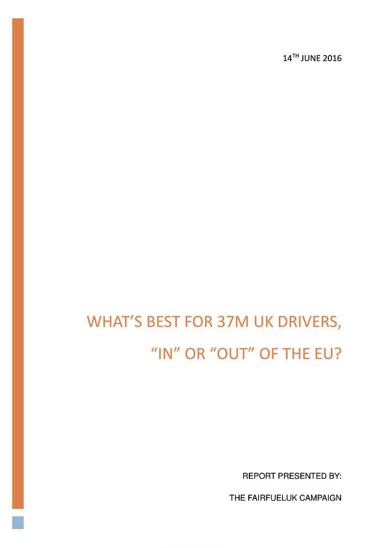 Click to see full FairFuelUK EU Survey Report